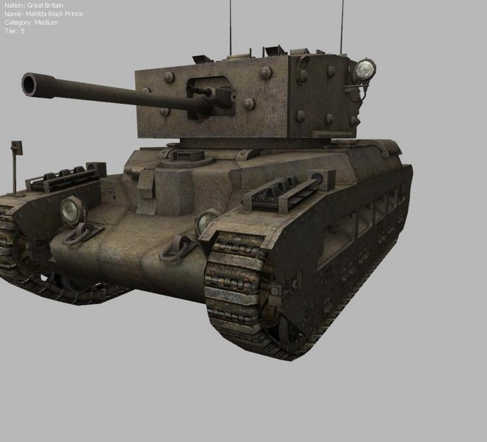 Which is better: Matilda IV or Matilda Black Prince?