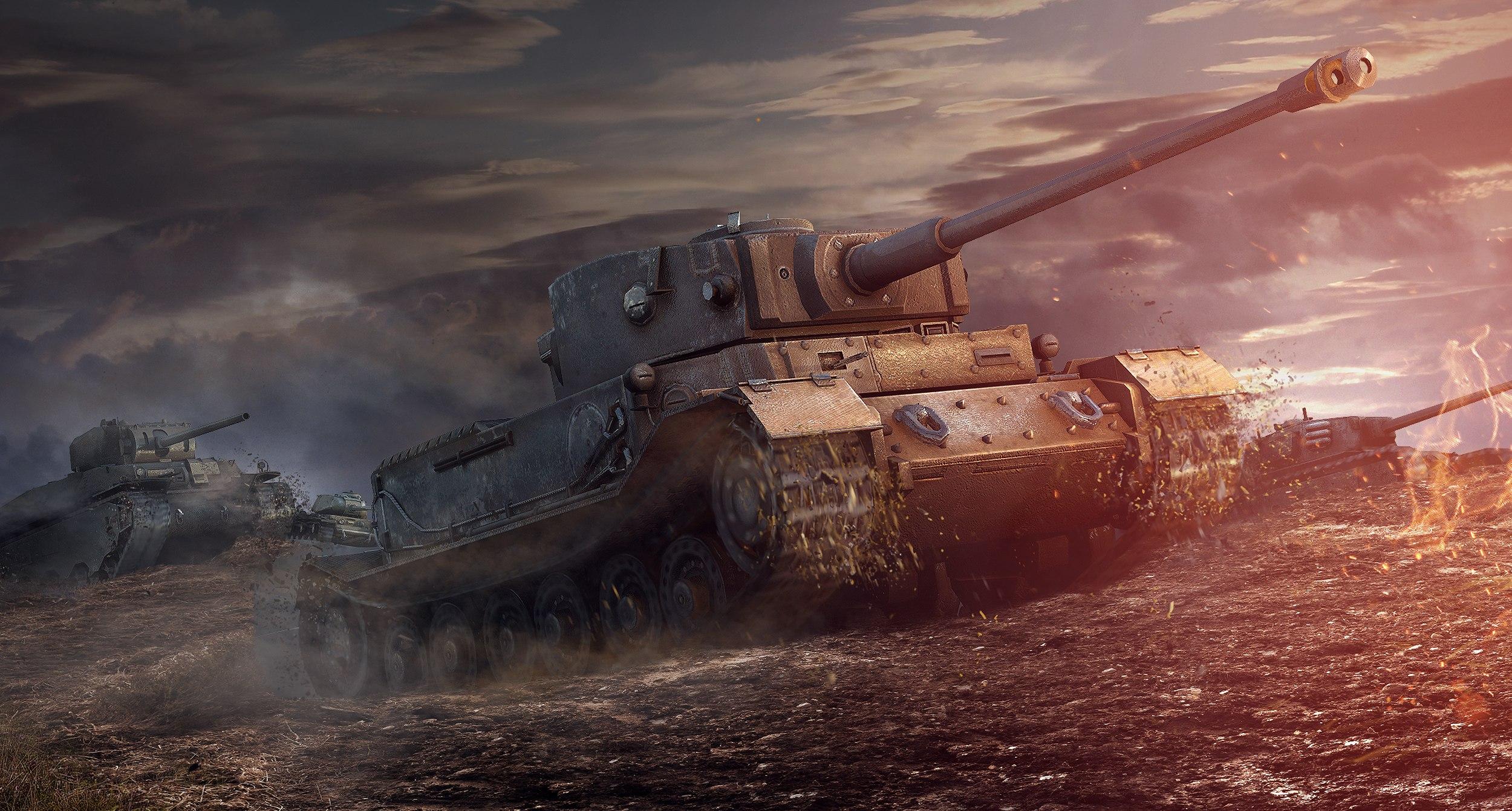 скачать обои из world of tanks на рабочий стол 1280х1024
