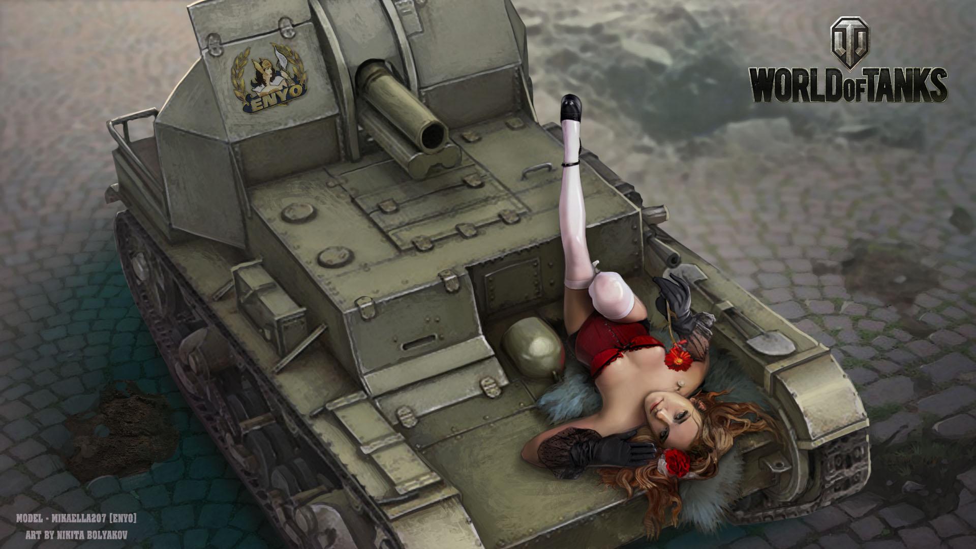 Фото девушка на танке 25 фотография
